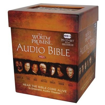 The Word of Promise Audio Bible, NKJV Audio Bible on CD - Both Old and New Testament