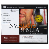 Front view - Spanish Audio Bible for MP3 & iPod Santa Biblia, NVI Bible