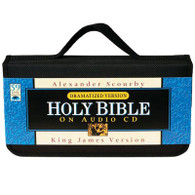 Front view - King James Bible on 59 CDs, Dramatized version by Alexander Scourby