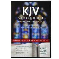 Front view - KJV Bible on DVD narrated by Alexander Scourby, Deluxe Edition