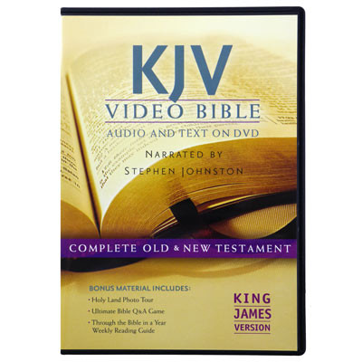 Front view - Dramatized King James Version Bible on DVD, Deluxe Edition