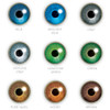 Choose from a selection of nine colours to make enhance your current eye color or try something completely new.  Subtle colours: Blue, Grey, Green, Pure Hazel and Brown. Vibrant colours: Brilliant Blue, Sterling Grey, Gemstone Green and Honey.