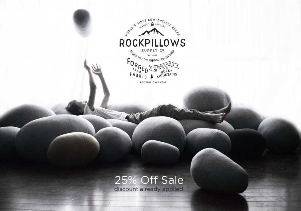 The Original Rock Pillows | Pillows That Look Like Rocks ...