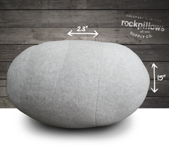 """The Boulder"" Rock Pillow- FREE shipping"
