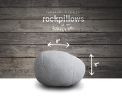 """The Pebble"" Rock Pillow- FREE shipping"