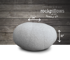 """The River Rock"" Rock Pillow- FREE shipping"