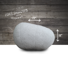 """The Stone"" Rock Pillow- FREE shipping"