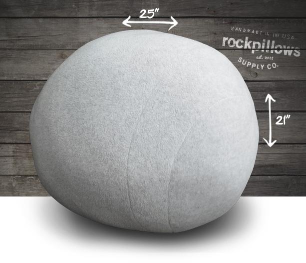 big one rock pillow cover. Black Bedroom Furniture Sets. Home Design Ideas