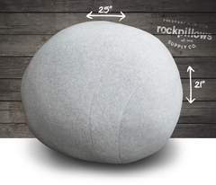 """The Big One"" Rock Pillow- FREE shipping"