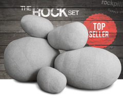 """The Ultimate Rock Set"" Rock Pillows- FREE shipping"