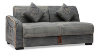 98211 Brand Sectional Blue Denim 816226023170 Seating Modern Blue Denim Sectional by  Zuo Modern Kassa Mall Houston, Texas Best Design Furniture Store Serving Houston, The Woodlands, Katy, Sugar Land, Humble, Spring Branch and Conroe