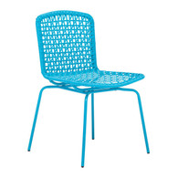 703058 Silvermine Bay Dining Chair Aqua 816226023019 Special Material Modern Aqua Dining Chair by  Zuo Modern Kassa Mall Houston, Texas Best Design Furniture Store Serving Houston, The Woodlands, Katy, Sugar Land, Humble, Spring Branch and Conroe