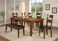 Figaro Dining Table Top with 4 Side Chairs