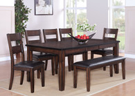 Maldives Dining Table Top with 4 Side Chairs