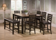 Elliott Counter Height Table Top with 4 Side Chairs