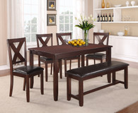 CLARA DINING TABLE TOP 5 Piece Set