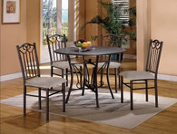 HAYES DINING TABLE TOP 5 Piece Set