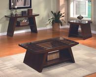 Midori 3-PK Cocktail Set: Coffee Table, End Table and Sofa Table