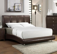 Jolie Contemporary Queen Bed