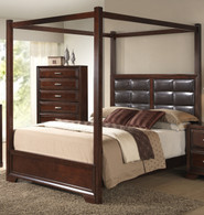 Jacob Canopy Queen Size Bed.