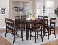 MALDIVES COUNTER HEIGHT DINING TABLE TOP 5 Piece Set