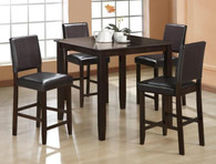Derick Counter Height Table TOP 5 Piece Set - 2708SET