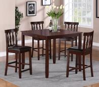 Soledad Counter Height Table TOP 5 Piece Set - 2707Set