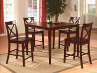 Theodore Counter Height Table TOP 5 Piece Set - 2753SET-ESP