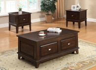 Lift Top Coffee Table with Caster