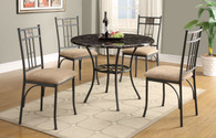 DONNA FAUX MARBLE TOP TABLE