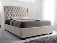 KAITLYN BOTTON TUFTED BED - 5276