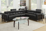 2PC SECTIONAL SET BDL BLACK