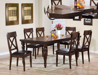 "SMITHSON 5-PK DINING TBL TOP (WITH 18"" B-LEAF)"