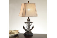 "LIFE-LIKE ANCHOR BASE LAMP 28"" H (2 LAMPS)"
