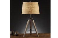 """TRIPOD STAND DESIGNED TABLE LAMP 31""""H (2 LAMPS)"""