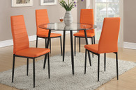 5PCS RETRO STYLE COLLECTION DINING ROOM SET