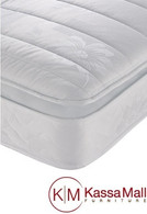"PILLOW TOP MATTRESS 2"" HIGH PERFORMANCE FOAM 12 YEAR WARRANTY"