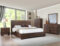 CRANSTON WOODEN STORAGE COMPLETE BEDROOM SET