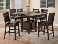 MARLOW COUNTER HEIGHT DINING TABLE TOP 5 Piece Set