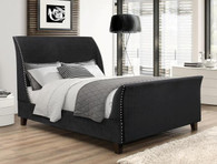 FELICITY UPHOLSTERED TUFTED BED - 5261-K-HB