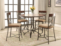 SARAH COUNTER HEIGHT TABLE - 2811T-5PC