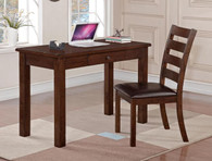 QUINN DESK & SIDE CHAIR