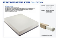 8 INCHES MEMORY FOAM MATRESS