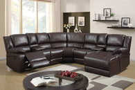 5PC Sorrento Sectional (CHOCOLATE) - Sorrento