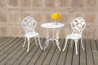 3PC BISTRO SET WHITE