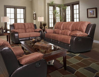 Hannah 3 PC Sofa Loveseat And Recliner Set - SF1003