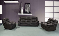 Elizabeth 3 PC Sofa Loveseat And Recliner Set - FG004