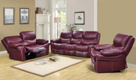 Madison 3 PC Sofa Loveseat And Recliner Set (GS890