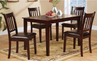 GIUSEPPE COUNTER HEIGHT TABLE TOP 5 PC Set - D042-T