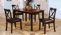 FEDERICO COUNTER HEIGHT TABLE TOP 5 PC Set - D044-T